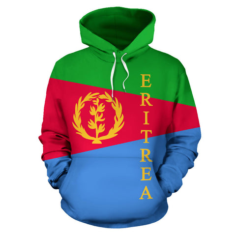 Image of Eritrea Flag Hoodie TH0