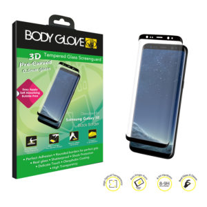 Body Glove 3D Curved Tempered Glass Screen Protector – Samsung Galaxy S8