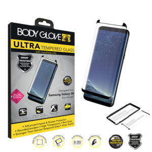 Body Glove Ultra Tempered Glass Screen Protector S8 -Black