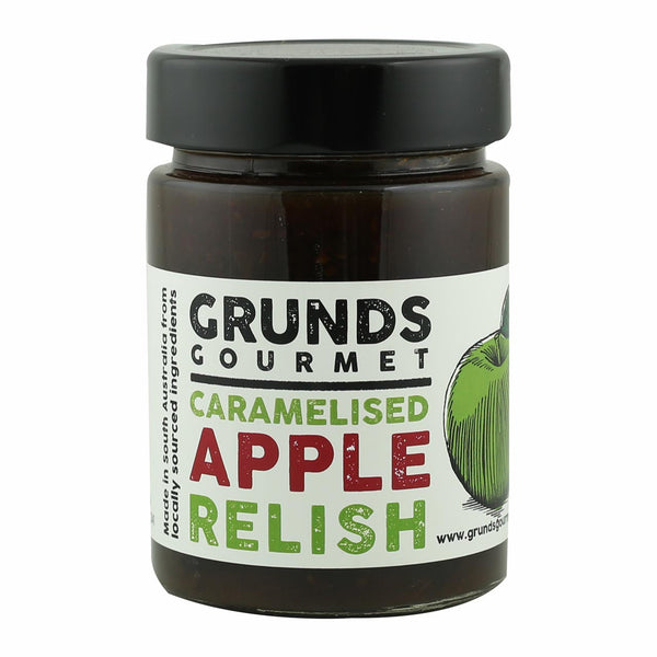Grunds Gourmet Caramelised Apple Relish