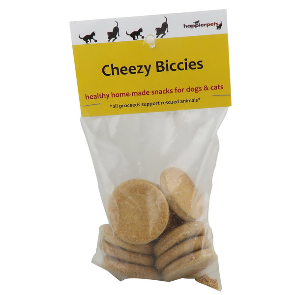 Happier Pets Dog Cheezy Biccies