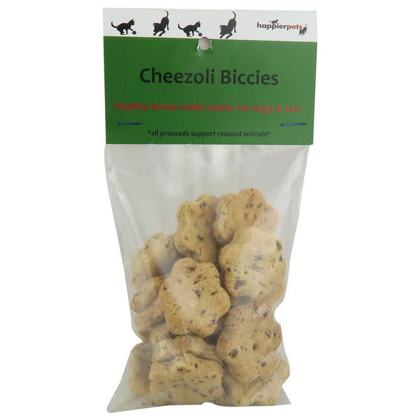 Happier Pets Dog Cheezoli Biccies
