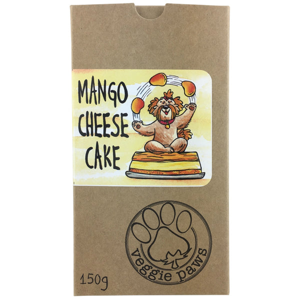 Veggie Paws Treat Pack -Mango Cheesecake