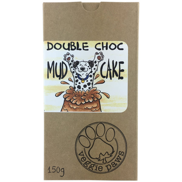 Veggie Paws Treat Pack -Double Choc Mud Cake