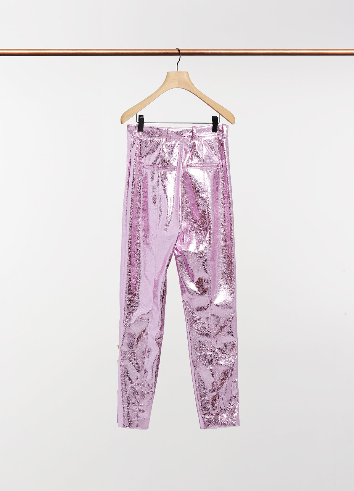 GLAM PANTS WITH INLAID BUTTONS