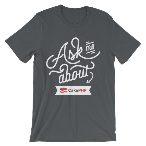 Ask Me About CakePHP - Gray