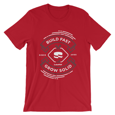 Build Fast, Grow Solid - Red