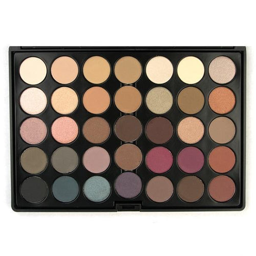35 Colour Timeless Eyeshadow Palette Crownbrush