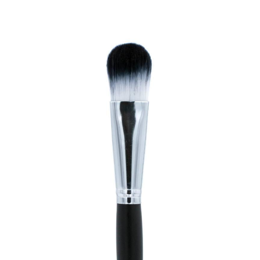 "C707-3/4"" Oval Foundation Brush Crownbrush Tip"