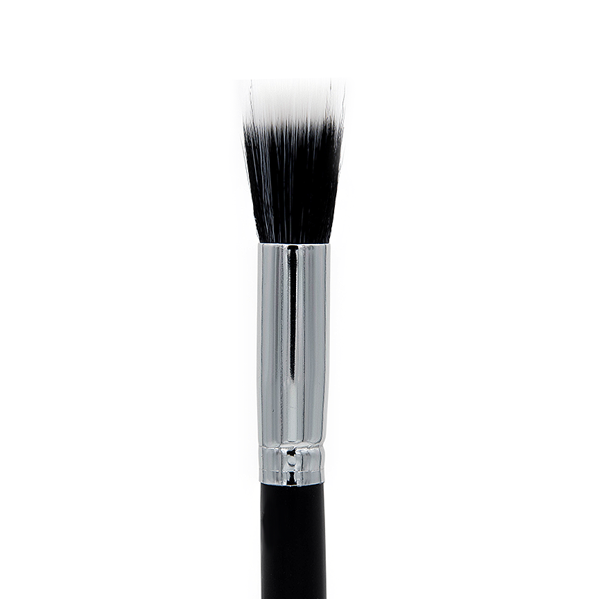 C404 Small Duo Fibre Makeup Brush | Crownbrush