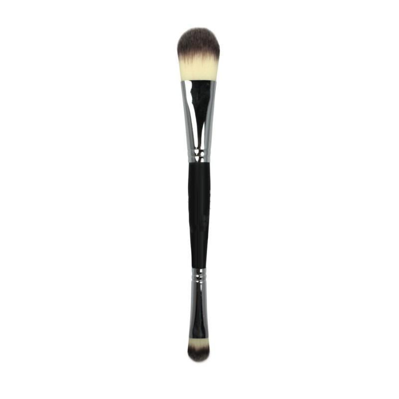AC010 Deluxe Foundation / Concealer Makeup Brush | Crownbrush