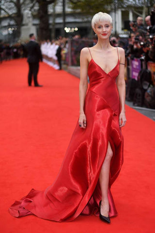 Andrea Riseborough at the BFI London Film Festival Oct 2017