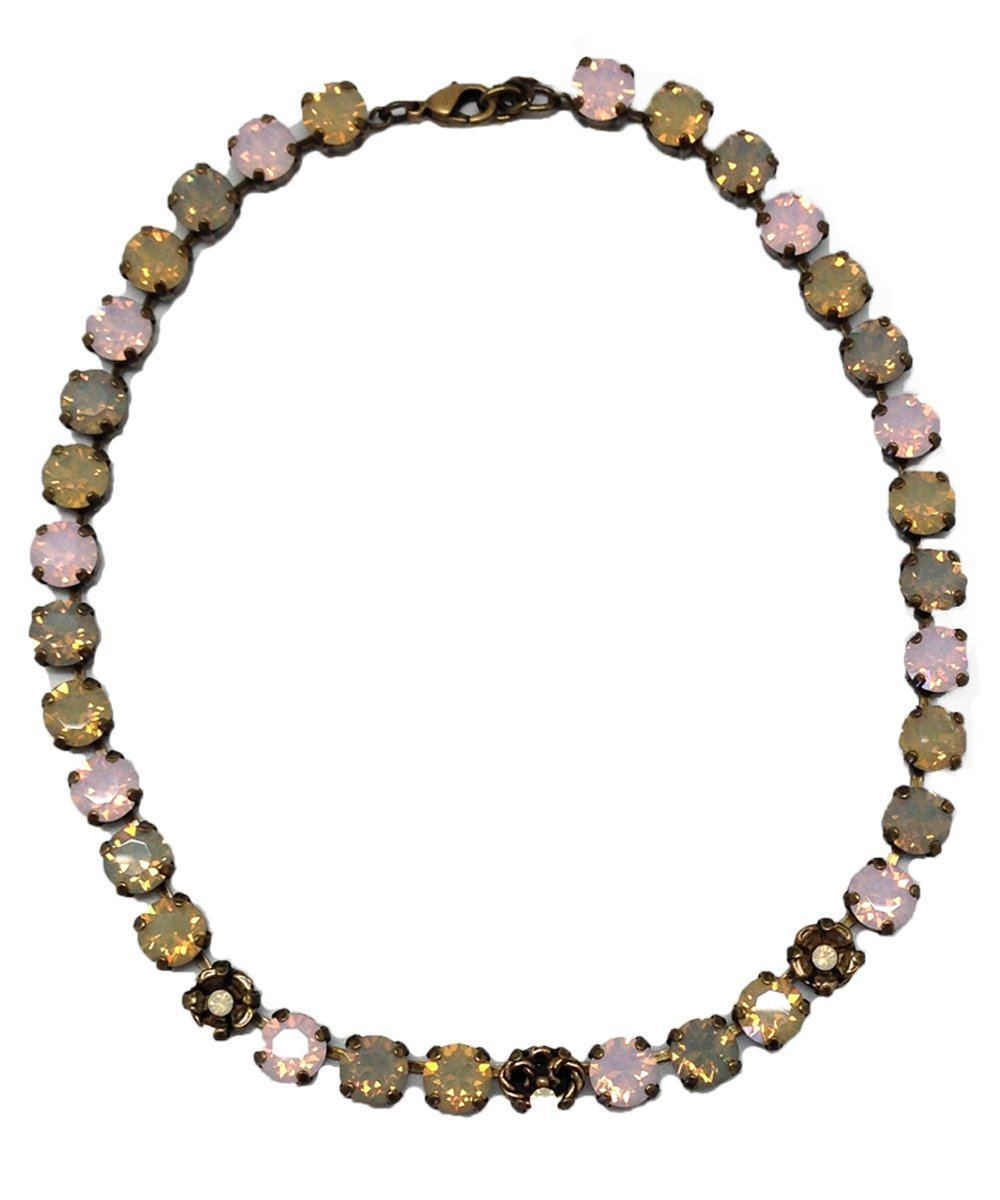 Necklace Swarovski crystals pastel - Vogline