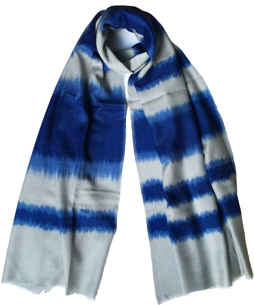 Echarpe laine Tie and Dye - Editions LESSisRARE