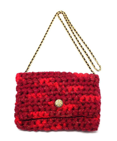 marieta-cox-bag hook-m-classical-chain-golden-red-Pen