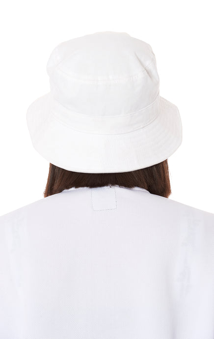 BUCKET HAT WITH LF EMBROIDERY
