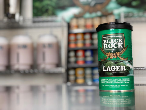 Black Rock: Lager - 1.7kg of Concentrated Wort
