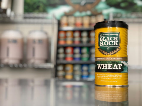 Black Rock: Unhopped Wheat - 1.7kg of Concentrated Wort