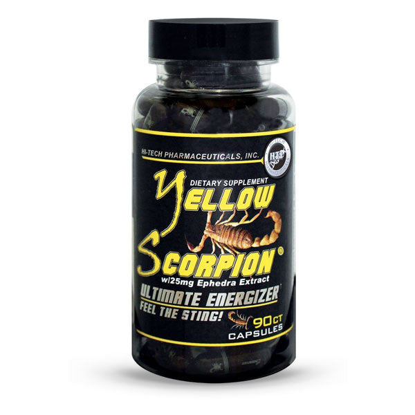 Yellow Scorpion™ Energy Supplement