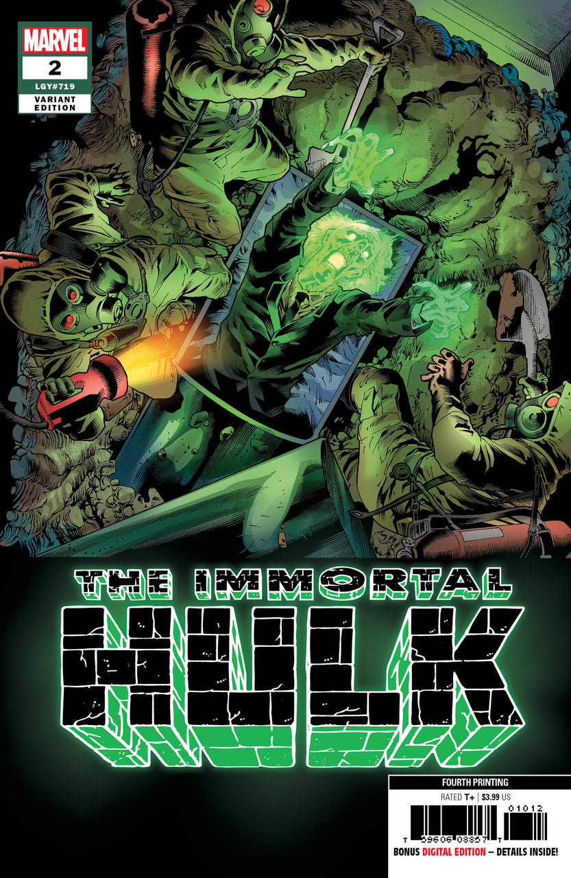 Immortal HULK 4TH Print Variant issue #2 igcomicstore