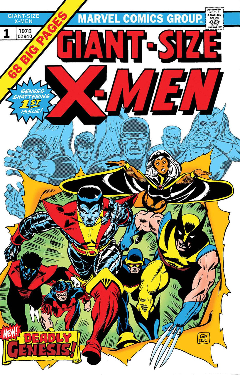 Giant Sized X-MEN  issue #1 Facsimile Edition igcomicstore