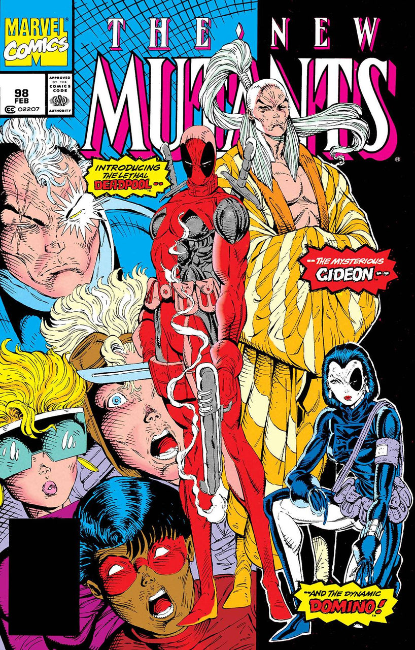 New Mutants issue #98 FACSIMILE Edition
