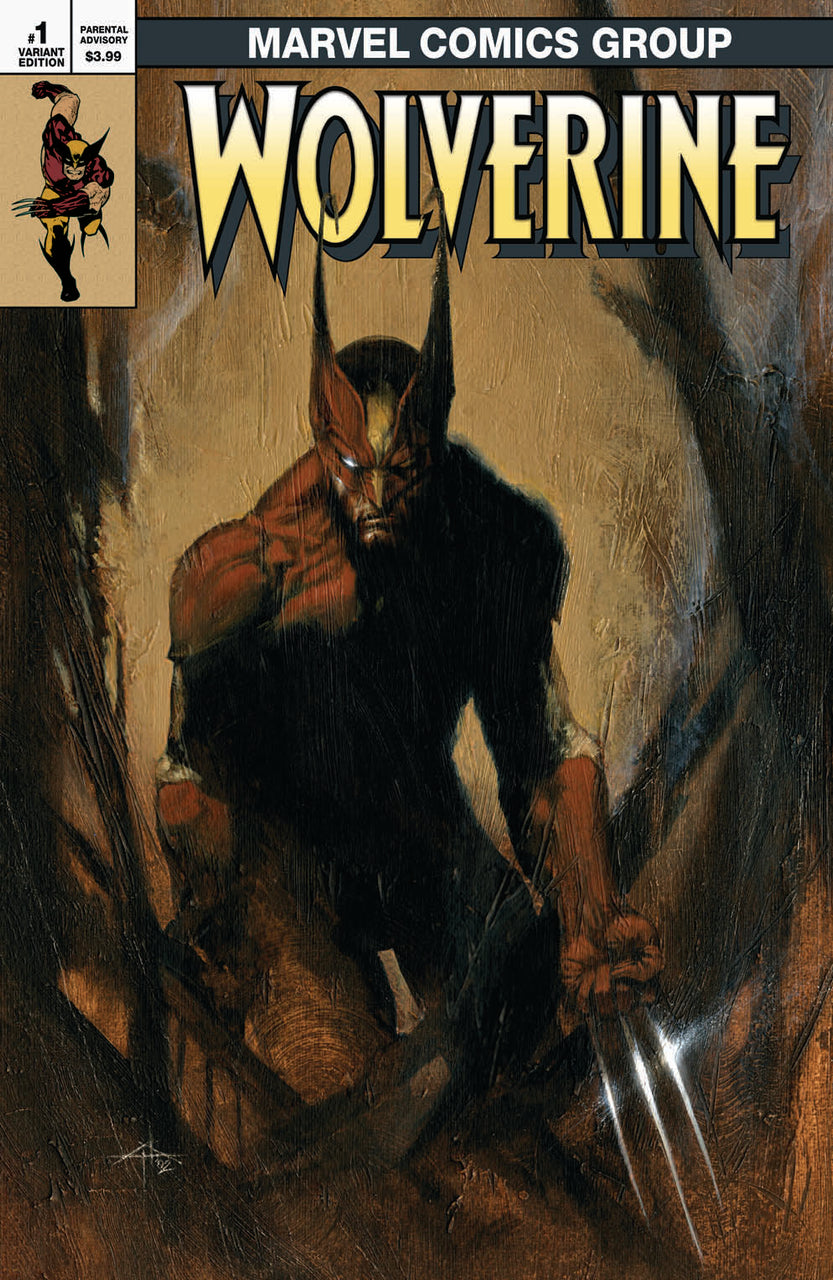 Wolverine Infinity Watch Classic Variant issue #1 Gabriele Dell'Otto