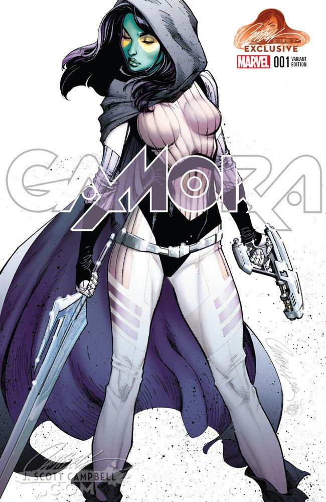 Gamora Variant issue #1 Cover A