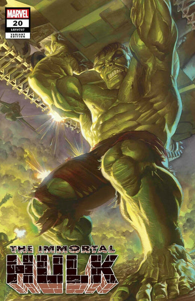 Immortal HULK SDCC Exclusive Variant issue #20