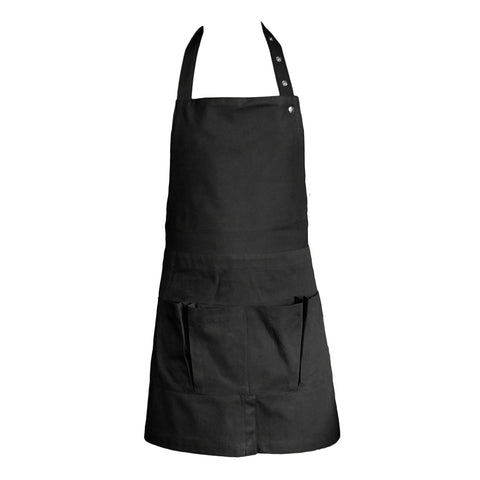 Organic Cotton Apron | Black