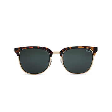 Flint Sunglasses in Tort by Quay Australia at CURRENT