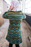 Metis sweater coat pattern (printed)
