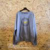 Circle Badge Crewneck Sweatshirt