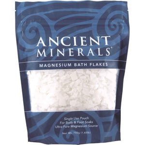 Ancient Minerals Magnesium Bath Flakes 750gm | HealthMasters