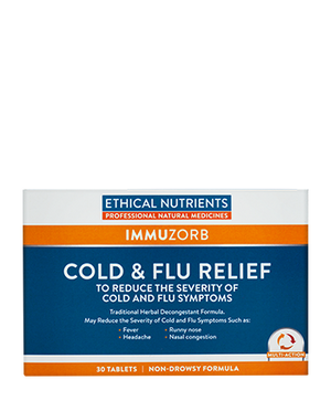 Ethical Nutrients Cold & Flu Relief 30 Tabs | HealthMasters