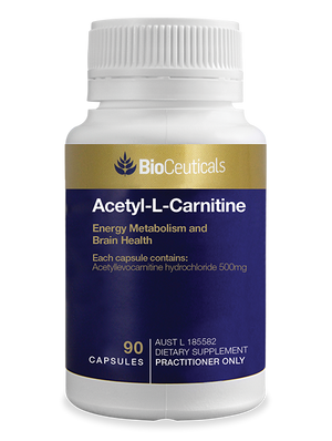 BioCeuticals Acetyl-L-Carnitine 90 caps 10% off RRP | HealthMasters