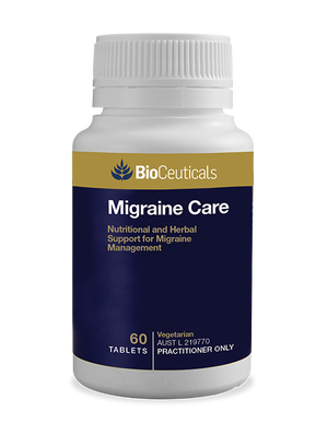 BioCeuticals Migraine Care 60 tabs 10% off RRP | HealthMasters