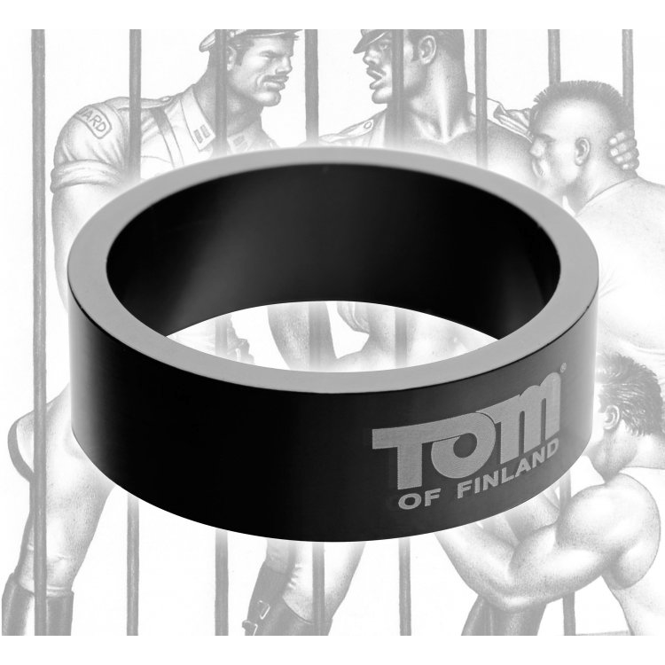 Tom of Finland Aluminum C-Ring by XR Brands - rolik