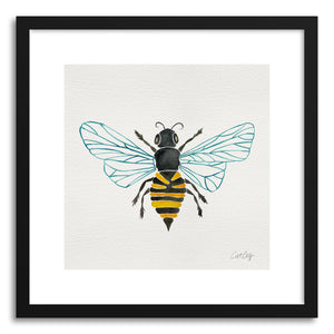 Fine art print One Bee by artist Cat Coquillette
