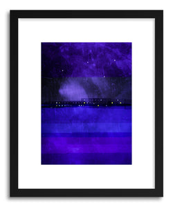 Fine art print Railway Suburb By The Sea by artist Marcos Rodrigues