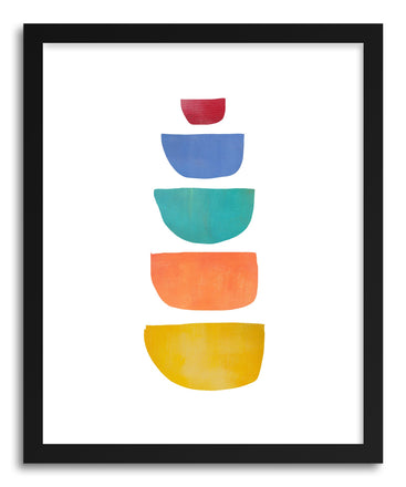 Fine art print Colorful Bowls by artist Jacquie Gouveia