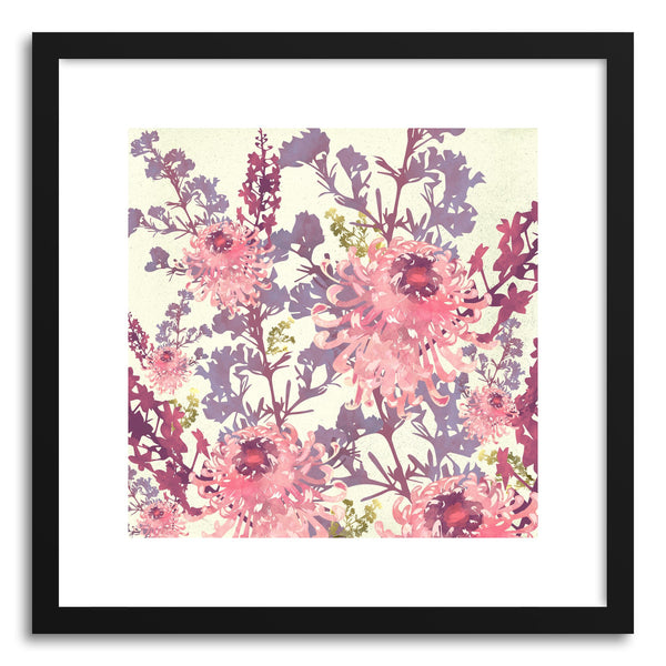 Art print Pink Flower by artist Spacefrog Designs