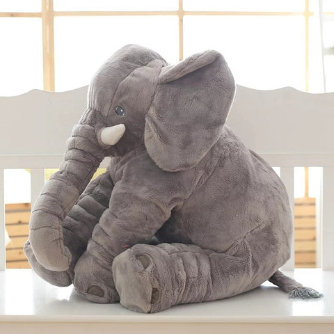 The Squishy Elephant Side Pillow