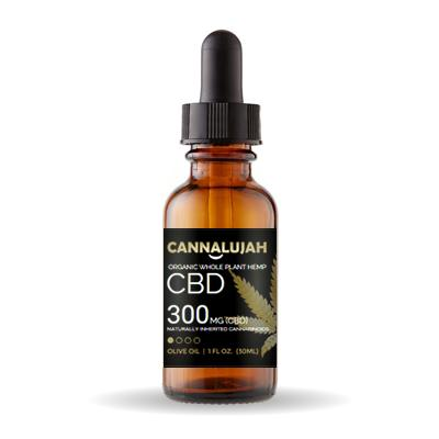 The Almighty Cannalujah™ Whole Plant Hemp CBD OIl Including Flowers and Roots | 300mg