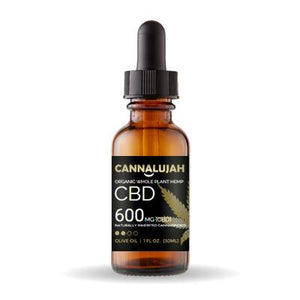 The Almighty Cannalujah™ Whole Plant Hemp CBD OIl Including Flowers and Roots | 600mg