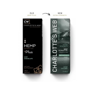 CHARLOTTE'S WEB EVERYDAY PLUS HEMP OIL