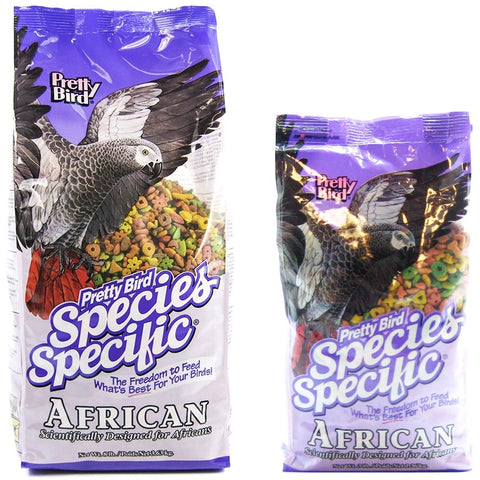 Pretty Bird African Species Select Bird Food, 3 lbs