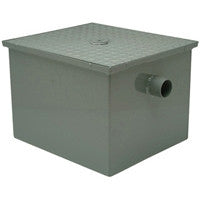 ZURN GT2700-25-3NH 3 NO-HUB 25 GALLON PER MINUTE GREASE TRAP WITH FLOW CONTROL