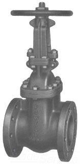 POWELL 2456-12IN CF8M FLGD GV GATE VALVE