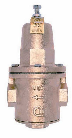 APOLLO 36H20701 1-1/2 FIP BRONZE 25-75PSI PRESSURE REDUCING VALVE WITH CLEANOUT